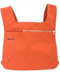 Ambush ロゴ ベルトバッグ - オレンジ
