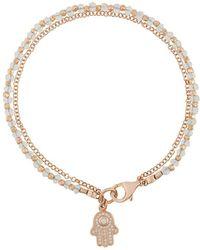 Astley Clarke Hamsa Biography Bracelet - Металлик