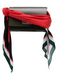 Toga Sac à main à bandoulière foulard - Vert