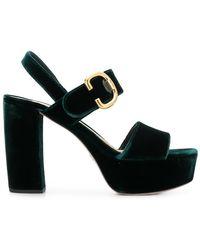 c0b310a6fb6 Lyst - Women s Prada Sandal heels Online Sale