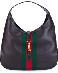 Gucci - Jackie Soft Leather Hobo Bag - Lyst