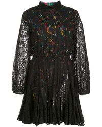 RHODE Aライン レースドレス - ブラック
