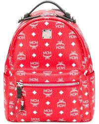 MCM - Stark Coated Canvas Backpack - Lyst