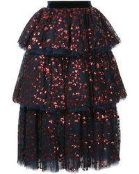 Macgraw スパンコール スカート - ブルー