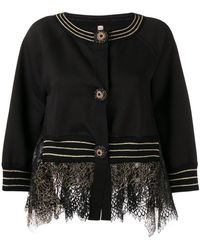 Antonio Marras - Lace Detail Jacket - Lyst