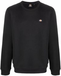 Dickies Construct Sweatshirt mit Logo-Patch - Schwarz