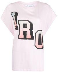 IRO ロゴ Tシャツ - ピンク