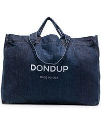 Dondup デニム ハンドバッグ - ブルー