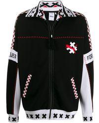 PUMA Jacke mit Logo-Print - Schwarz