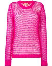 N°21 Oversized Sweater En Vest - Roze