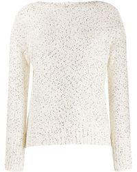 Snobby Sheep スパンコール セーター - マルチカラー