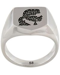 Karl Lagerfeld Karl Kameo Ring - Metallic