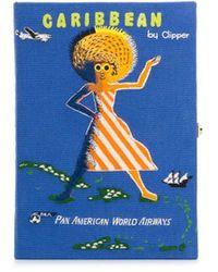 Olympia Le-Tan Pochette Voyage Caribbean - Bleu