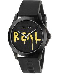 Gucci Montre Ghost G-Timeless, 38mm - Noir
