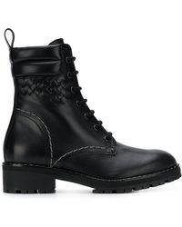 Bottega Veneta - Intrecciato Boots - Lyst