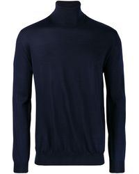Lanvin タートルネック セーター - ブルー