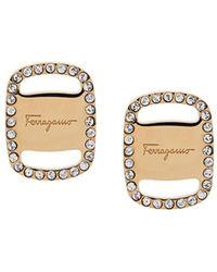 Ferragamo Oro Earrings - Metallic