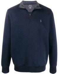 Polo Ralph Lauren ジップ スウェットシャツ - ブルー