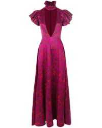 Alistair James - Floral Love Ruffle Gown - Lyst
