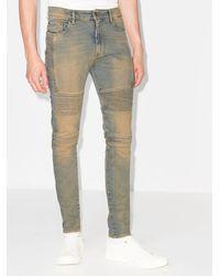 Represent - Biker-style Skinny Jeans - Lyst