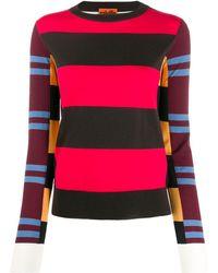 Colville Striped Sweater - Black