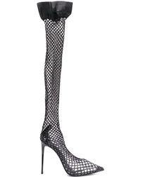 Le Silla Gilda ソックス パンプス - ブラック