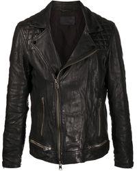 AllSaints Conroy ライダースジャケット - ブラック