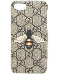 Gucci ビー Iphone 7 ケース - マルチカラー