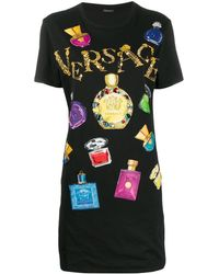 Versace Embellished T-shirt - Noir