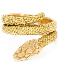 Cartier - Signature Snake Ring - Lyst