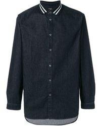 N°21 - ポロカラー デニムシャツ - Lyst