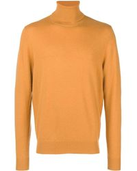 Chalayan Split Roll Neck Jumper - Yellow