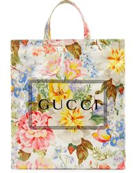 Gucci - プリント トートバッグ - Lyst