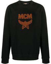 MCM シアリング ロゴ スウェットシャツ - ブラック