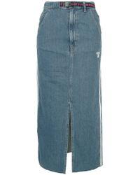 Hysteric Glamour - Adios Front Slit Denim Skirt - Lyst