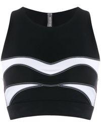 NO KA 'OI - Stitching Detail Sport Tank Top - Lyst