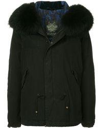Mr & Mrs Italy Fur Hood Parka - Zwart