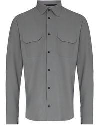 GR10K ダブルポケット シャツ - グレー