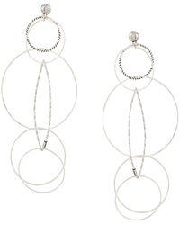 Gas Bijoux Torsade Earrings - Metallic
