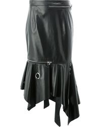 Monse ラムスキン スカート - ブラック
