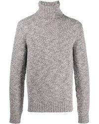Dolce & Gabbana Джемпер С Высоким Воротником - Серый