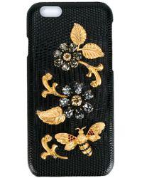 Dolce & Gabbana - クリスタル装飾 Iphone 6 カバー - Lyst