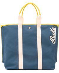 Bally - Top Handles Tote Bag - Lyst