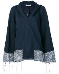 Aviu - Zipped Oversized Jacket - Lyst