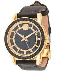 Versace Наручные Часы Code 40 Мм - Черный