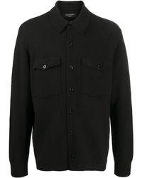 AllSaints シャツジャケット - ブラック