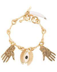 Chloé - Eye And Hands Charm Bracelet - Lyst