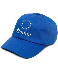Etudes Studio Booster ロゴ キャップ - ブルー