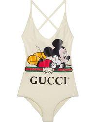 Gucci グッチdisney (ディズニー) X スイムスーツ - ホワイト