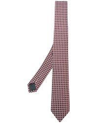 Z Zegna - Embroidered Tie - Lyst